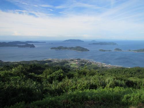 展望台からの瀬戸内海