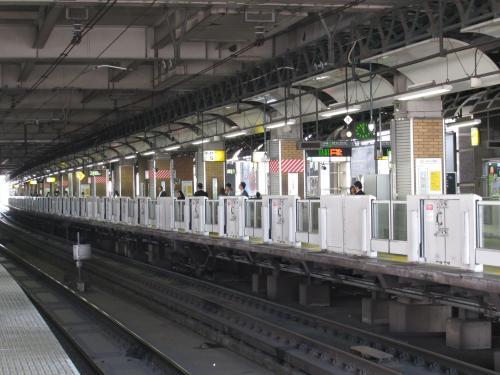 ホームドア恵比寿駅