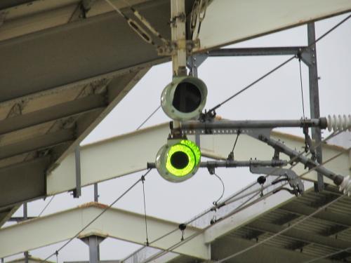 新幹線レピーター点灯時