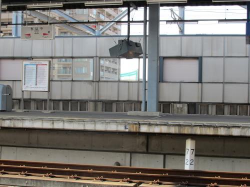 千早駅72キロポスト