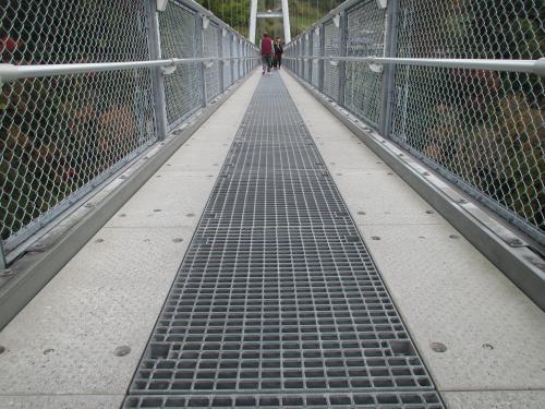 九重夢大吊橋の通路