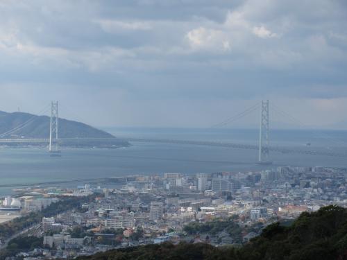 明石海峡大橋遠望