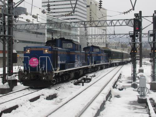 トワイライトエクスプレス札幌