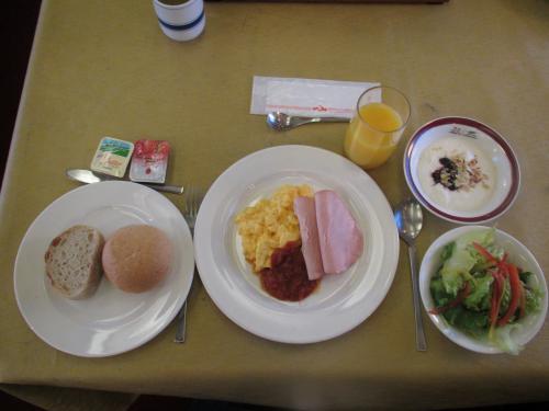 トワイライトエクスプレス朝食