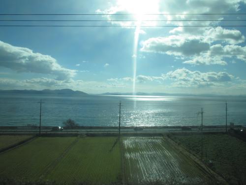 湖西線琵琶湖