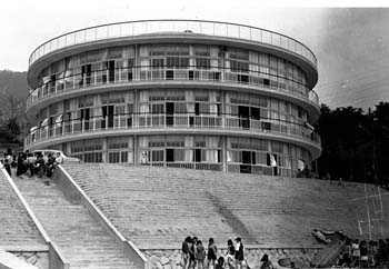195504 摩耶小学校分校<美野丘小学校>1 神戸市(坂本鹿名夫)