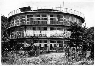 195503 第二菊陵中学校<富野中学校>1 北九州市(坂本鹿名夫)