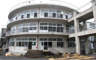195504 旭中学校<中央中学校>1 岡山市(坂本鹿名夫)
