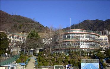 195504 摩耶小学校分校<美野丘小学校>3 神戸市(坂本鹿名夫)