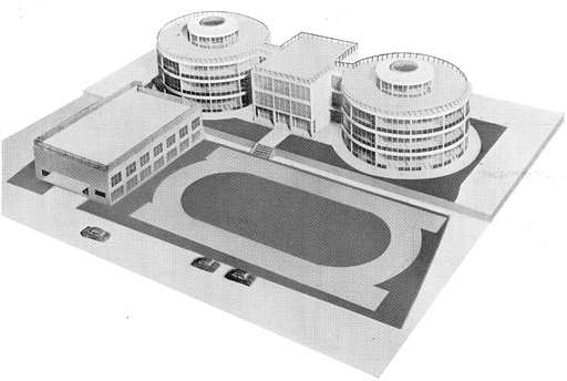 195303 金城高等学校<遊学館高校>2 金沢市(坂本鹿名夫)