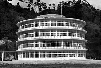 195611 布引中学校 神戸市(坂本鹿名夫)