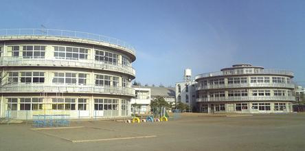 195605 津田沼小学校1 習志野市(坂本鹿名夫)