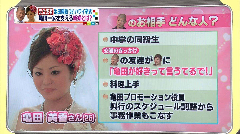 亀田興毅と嫁・伊東美香の画像4