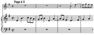 Fuge 1-8 piano score