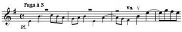 Fuge 1-8 violon