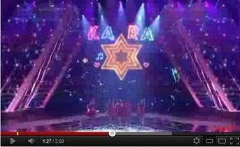 KARA、2011紅白、1