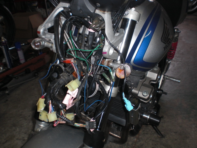 TUフォーク修理&タイヤ交換 (26)