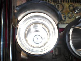 TUフォーク修理&タイヤ交換 (11)