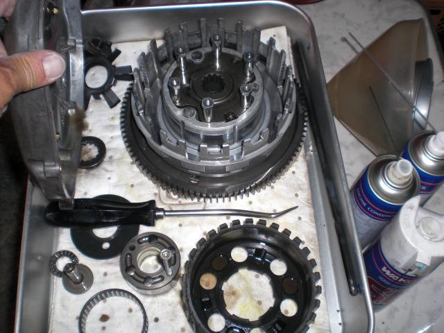 SYクラッチ修理作業開始 (4)