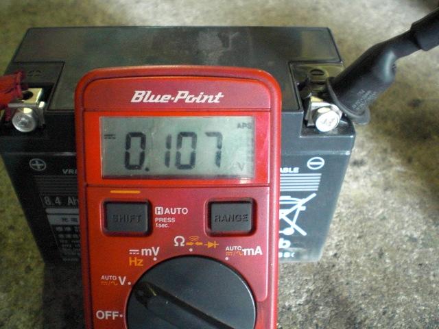 TBバッテリー交換シート修理 (2)