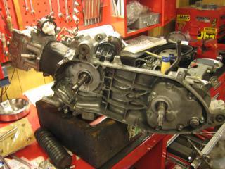 NMヘッド組み上げからエンジン完成 (17)