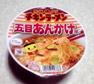 チキンラーメン 五目あんかけ風