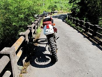 古めいた橋