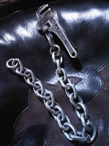 SOR pipe wrench wallet chain