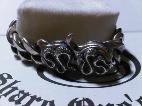 watchbraceret snakeclip