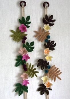 ハワイアン壁飾り