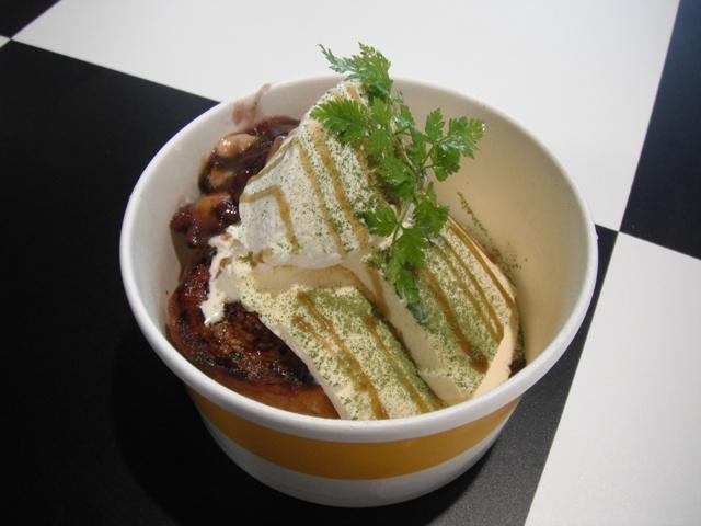 抹茶小倉バナナフレンチトースト