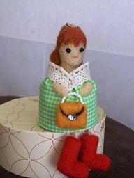 人形バッグ