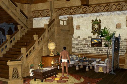 階段横のスペース