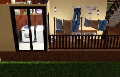 balivilla洗濯室