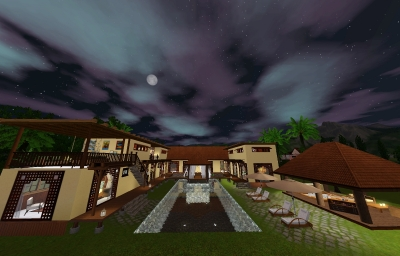 balivilla夜景2