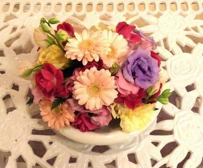s-結婚式でもらった花