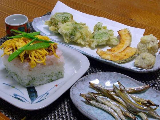 140223フキノトウの天ぷらと