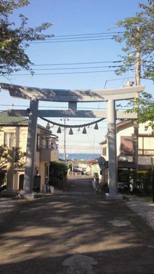 走水神社、金沢八景島1