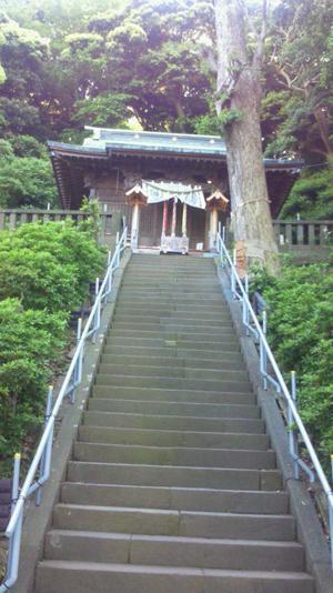 走水神社、金沢八景島4
