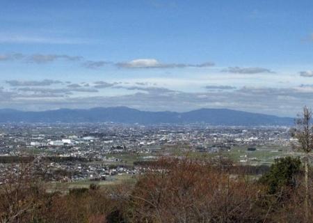 八楽と清水山頂 176