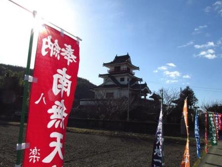 八楽と清水山頂 001