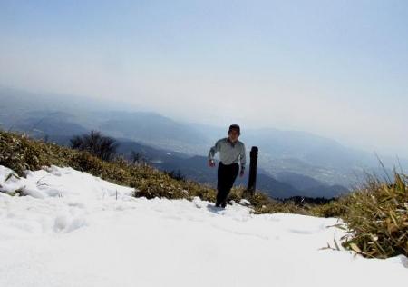 春のような天山残雪 103