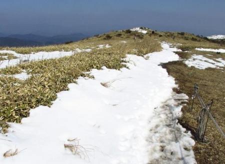 春のような天山残雪 109