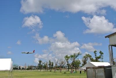 沖縄 飛行機も見れるよ