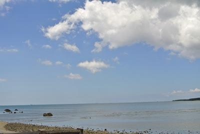 沖縄 目の前はビーチ