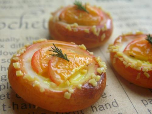 オレンジカスタードパン4