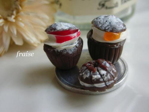 チョコカップケーキ3