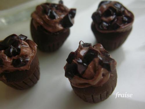 チョコカップケーキ4
