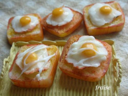 目玉焼き食パン12