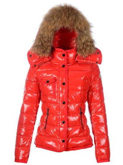 2011 Nouveau! Moncler armoise femme doudoune rouge
